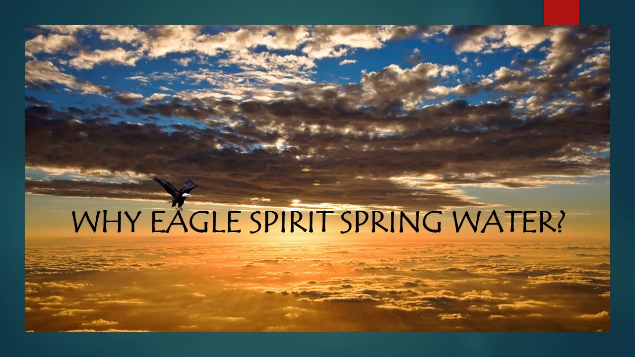 about eagle spirit high alkaline artesian spring water youtube