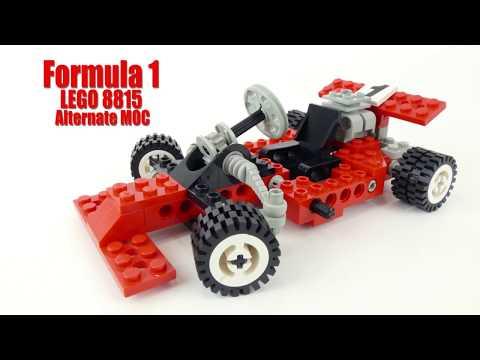 Formula 1 - LEGO 8815 Alternate MOC (4K)