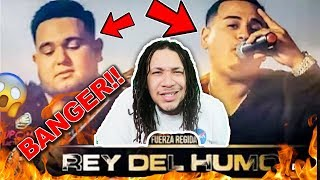 Fuerza Regida REY DEL HUMO En Vivo REACTION
