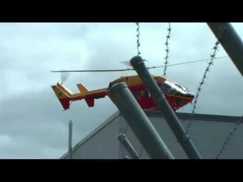 Waikato King Country Westpac Rescue BK-117 ZK-IRU Hamilton Airport