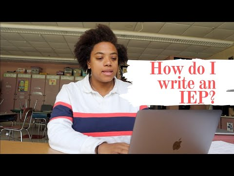IEP   How to Write An IEP   That Special Educator