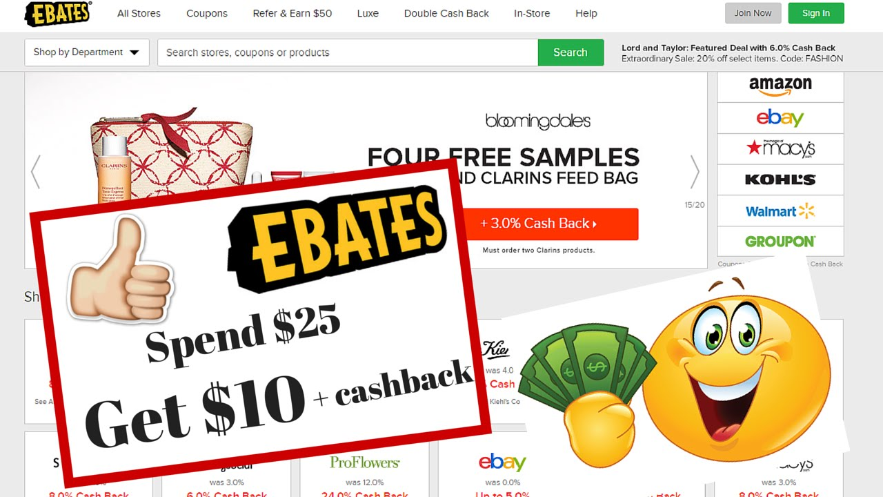Ebates Apple Pay