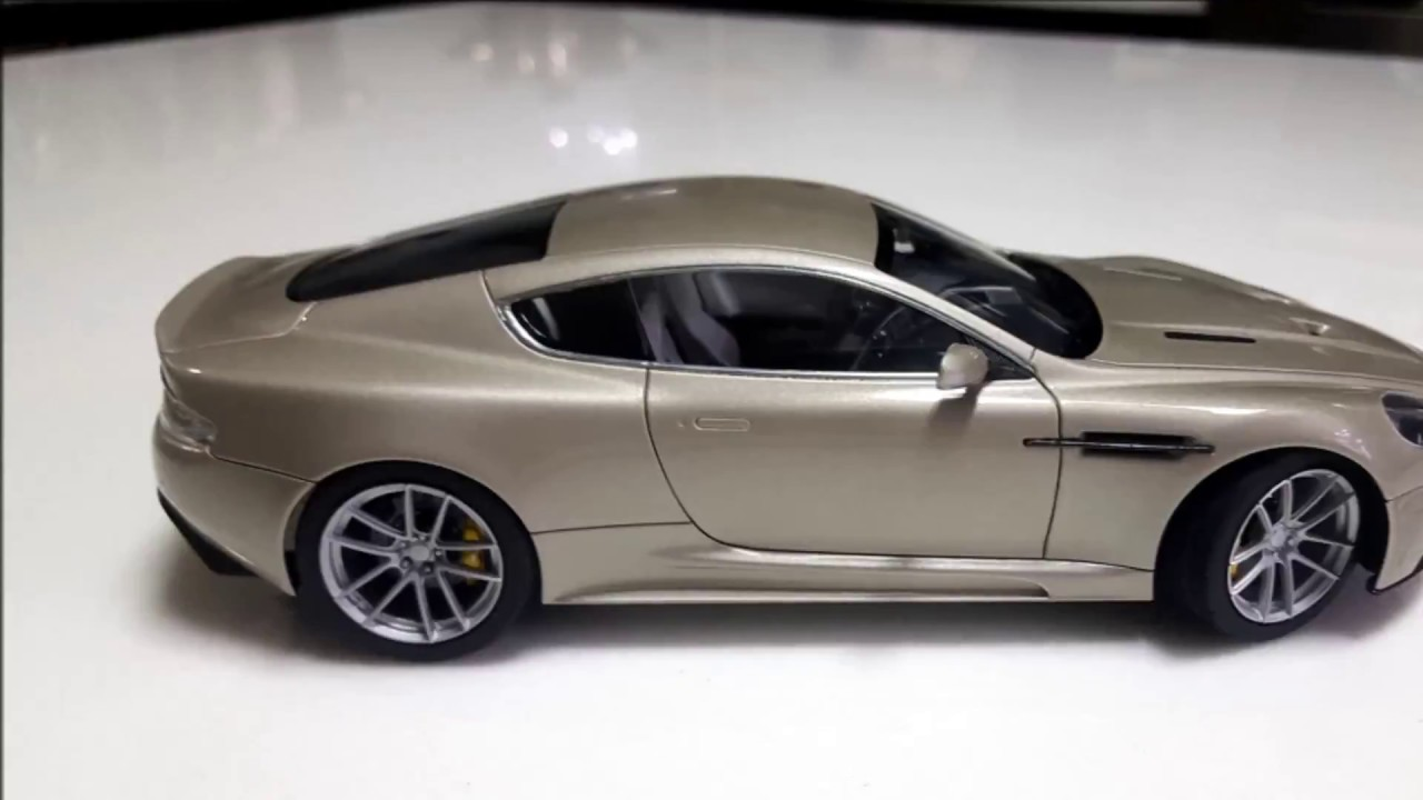 1 24 Tamiya Aston Martin DBS build - YouTube