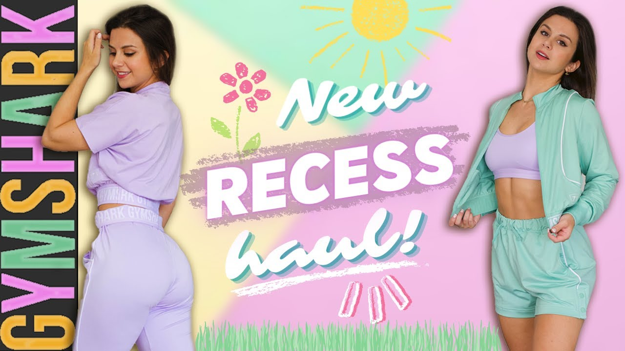 UNRELEASED GYMSHARK RECESS HAUL! GYMSHARK NEW RELEASES TRY ON HAUL REVIEW 2021