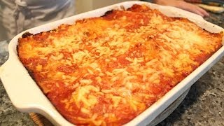 Vegetable Lasagne Recipe - OrsaraRecipes