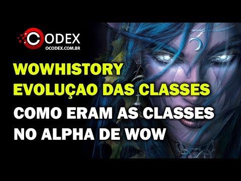 Causos de WoW - Como eram as Classes no Beta de World of Warcraft