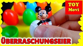 Micky Maus Wunderhaus Deutsch Überraschungseier Surprise Eggs Minnie Maus