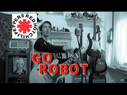 Резултат с изображение за red hot chili peppers go robot