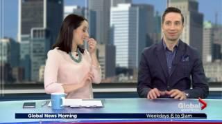 Matt Mardini On Global News - the funny introduction