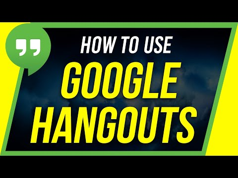 How To Use Google Hangouts - Beginner's Guide