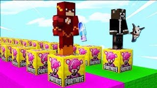 😂 THE NEW FORTNITE LUCKY BLOCKS IN MINECRAFT MODS!