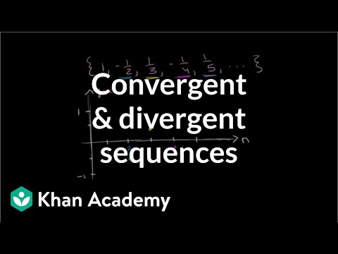 Convergent and divergent sequences | Series | AP Calculus BC | Khan Academy