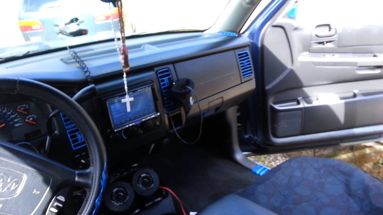 Dodge Dakota Custom Interior Youtube