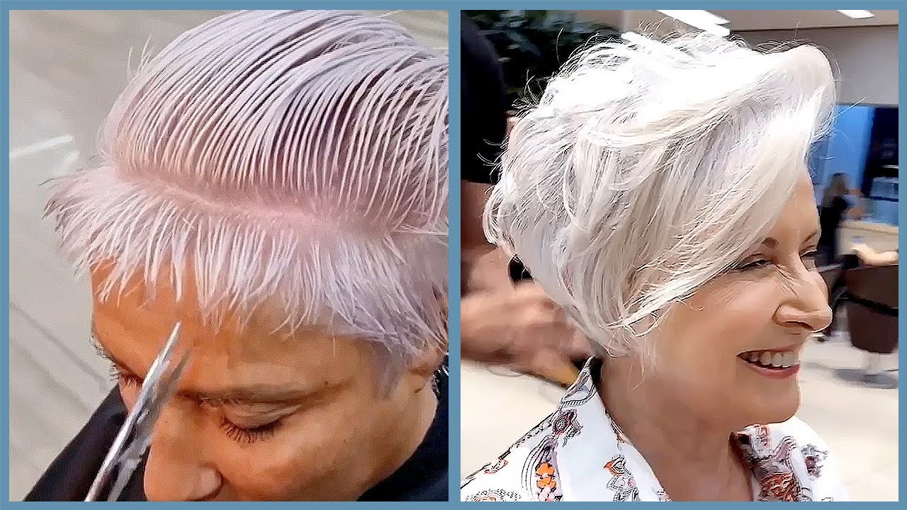 Youthful Haircuts Are Asking in 2021 😍 Short Trending Hairstyles | For Over 50 Transformation