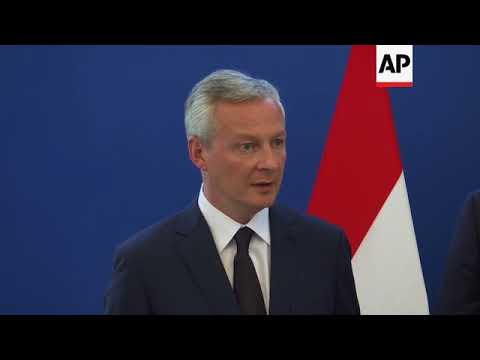 Le Maire wants European nations to push back against Trump on Iran deal