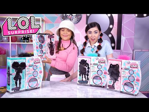 OMG Dolls Unboxing With Tahani And Kelly!   LOL Surprise! Compilation