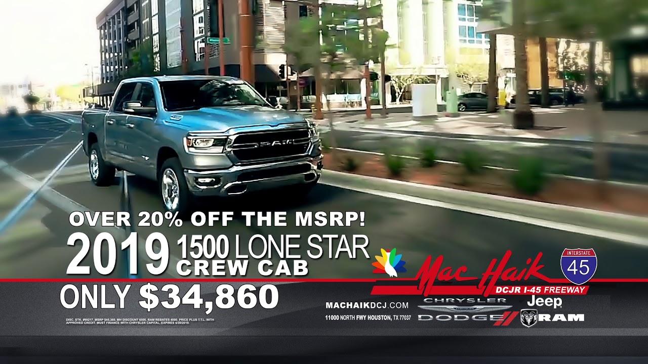 Maik Haik Dodge >> Spring Sales Event Mac Haik Dodge Chrysler Jeep Ram