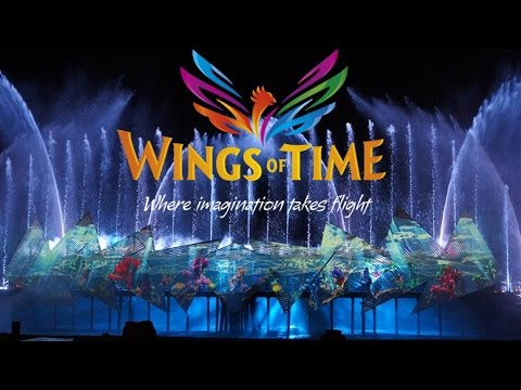At Singapore SENTOSA ISLAND (Wings Of Time)