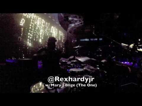 Rex Hardy Jr wMary J Blige THE ONE  #rexhardyjrlife