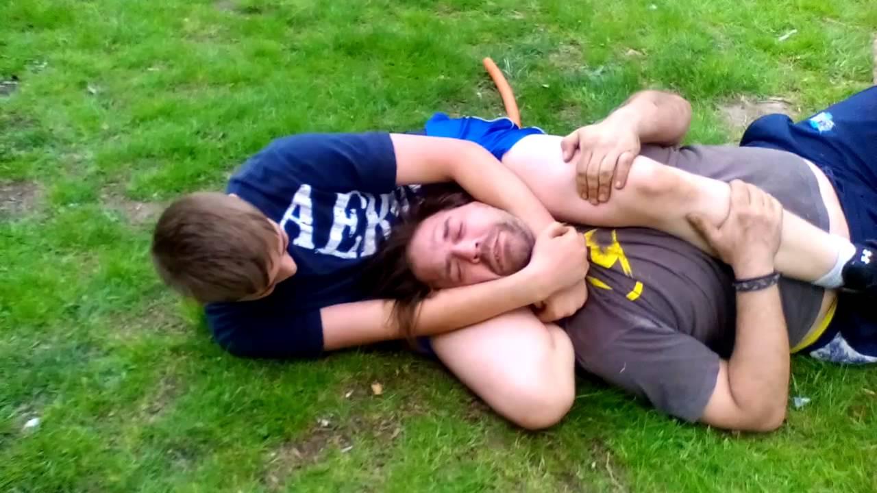 randy orton vs triple h backyard wrestling youtube