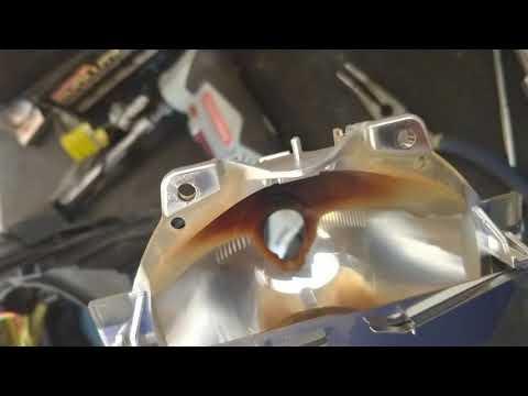 BWM E46 HID burned xenon lens repair cheap