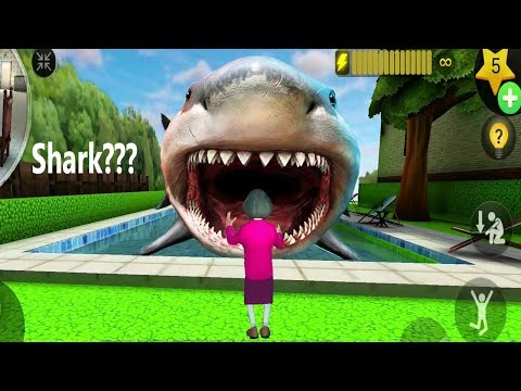 Scary Teacher 3D Update - New Chapter 4 New Levels Hungry Shark in Pool, Claim to Flame, Pop Tart