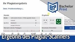 PLAGIAT-SCANNER ONLINE | Erklärung des Plagiatsreports