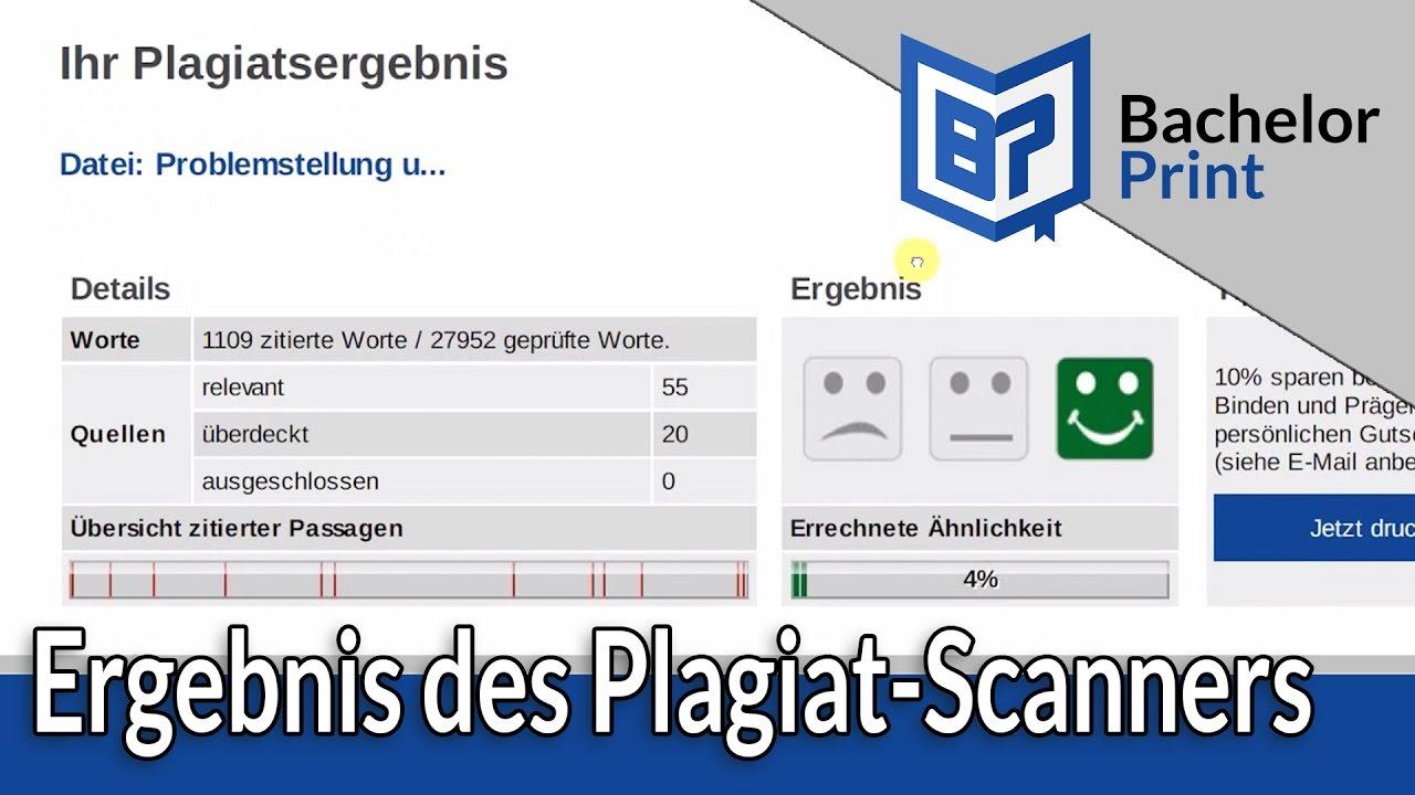 plagiat scanner