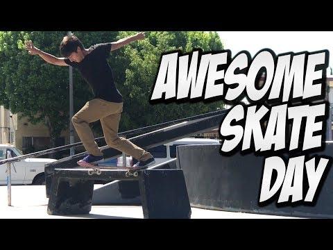 MIKE PIWOWAR & JOSE CUEVAS KILL IT ON A SKATEBOARD !!! - A DAY WITH NKA