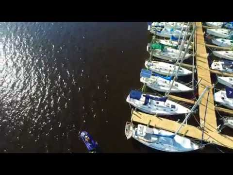 DJI INSPIRE Test Flight At Mandarin Park Dock Near Julington Creek Fish Camp And Marina.