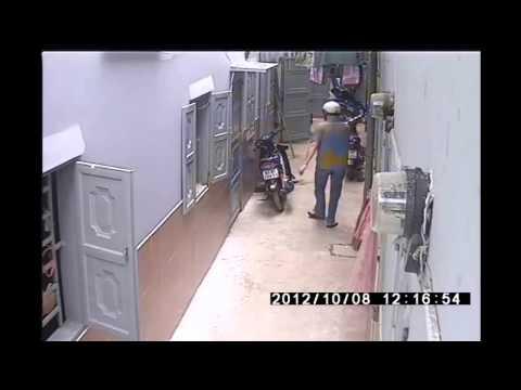 Camera Digihome.vn  quay cảnh giết người trộm xe máy thật khủng khiếp :(