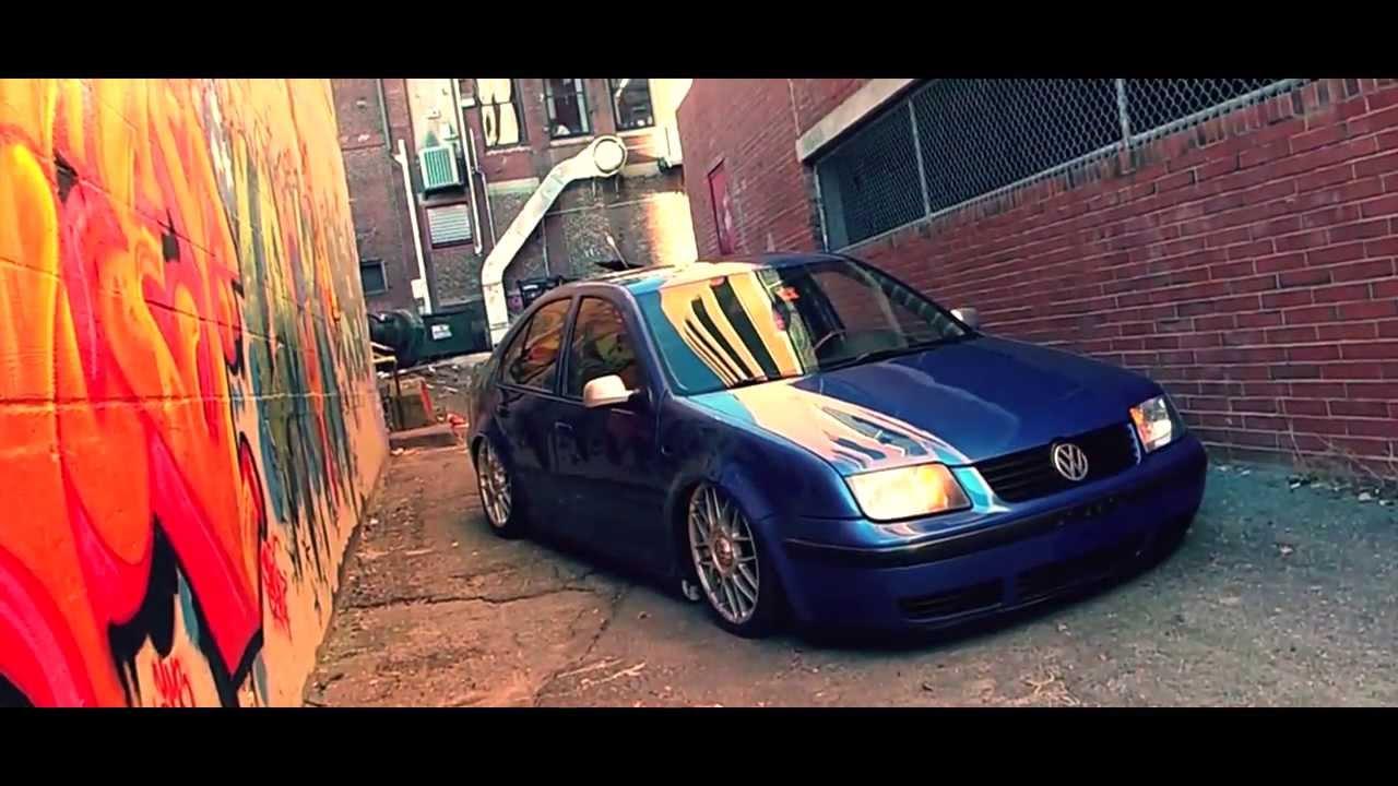 Bagged Jetta GLX - AirLift AutoPilot V2 - YouTube