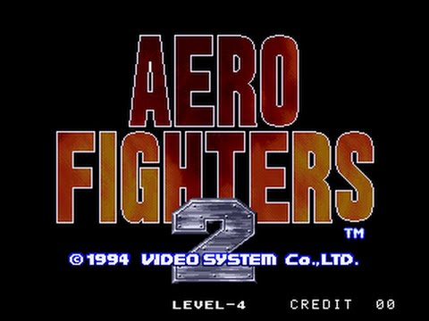 Aero Fighters 2 Juego Retro Clasico Neo Geo 2 Youtube