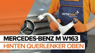 Wie MERCEDES-BENZ M-CLASS (W163) Motorhalter austauschen - Video-Tutorial