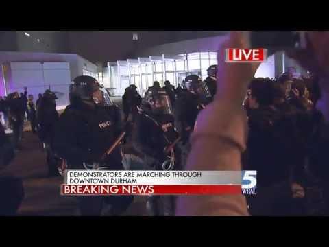 durham protest breaking news