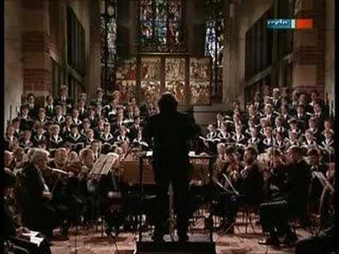 St Thomas Choir Thomanerchor singing Matthäuspassion