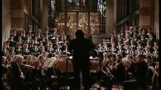 St. Thomas Choir (Thomanerchor) singing Matthäuspassion