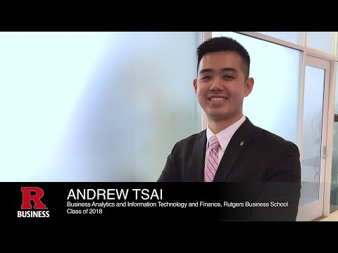 Andrew Tsai, Business Analytics and Information Technology & Finance, Rutgers Business School