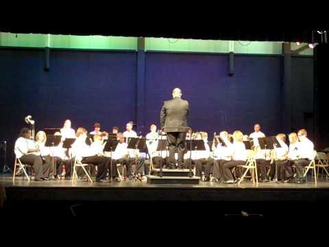 Horace Mann Middle School Band - Adjudication 1 2012