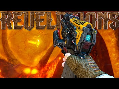 'Revelations' DLC Weapons ONLY! Killing The Shadowman! Solo Easter Egg (Call of Duty Black Ops 3)