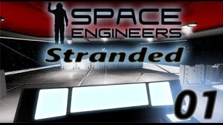 Space Engineers: Stranded Episode 1