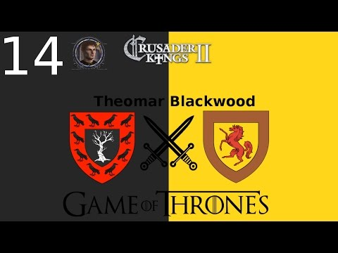 CK2 Game of Thrones - Blackwood #14 - Lord Melwys' Rebellion