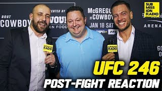Download UFC 246: McGregor vs. Cerrone Post-Fight Reaction Mp3 and Videos