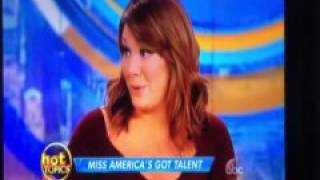 The View mocks Miss Colorado and her monologue, Joy Behar asked about