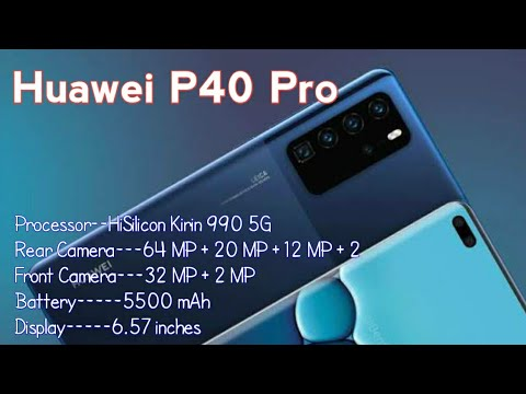 Huawei P40 Pro 5G (2020) Introduction    || Technical Tips Boy
