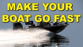 How To Make Your Boat Faster | Bass Fishing