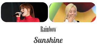 Rainbow (레인보우) - Sunshine (선샤인) Lyrics HAN/ROM/ENG As a Duet