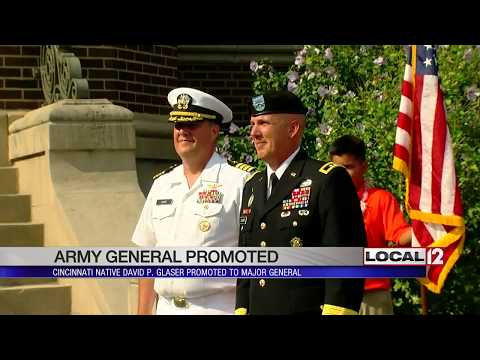 Local Elder HS Grad, US Army General David P. Glaser Promoted To Major General