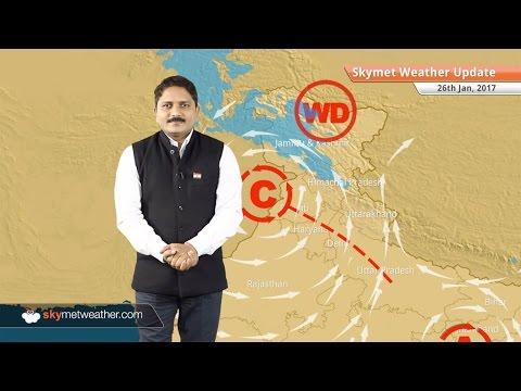 Weather Forecast for Jan 26: Snow in Kashmir, Himachal; Rain in Delhi, Chennai