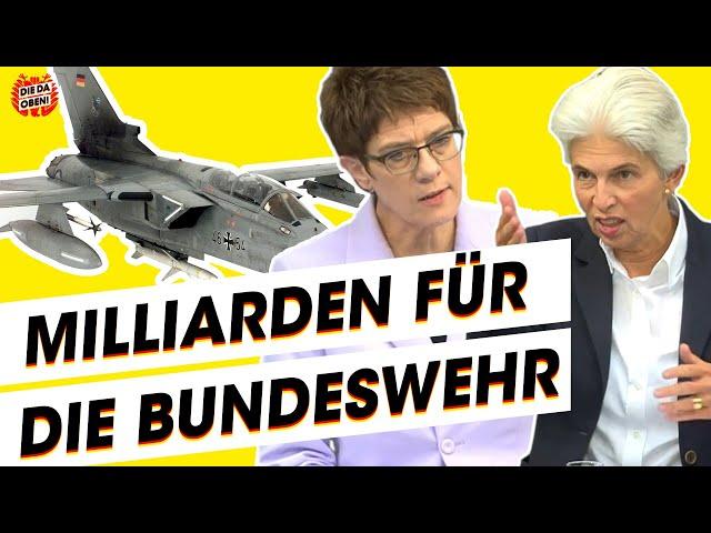 Immer mehr Kohle für die Bundeswehr? AKK und die Milliarden